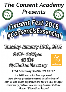 Consent Fest 2018 #dobetter @ Optimism Brewery | Seattle | Washington | United States